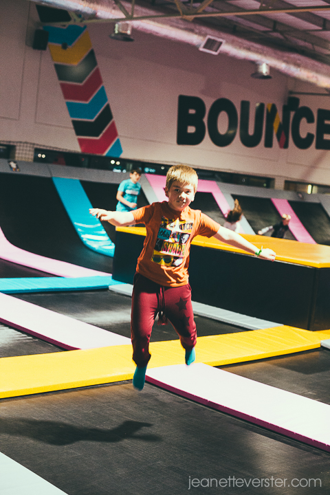 Having fun at BounceInc in Waterfall